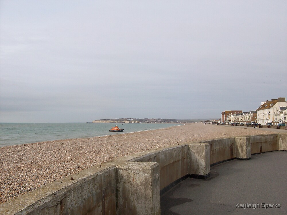 Seaford Beach by Kayleigh Sparks