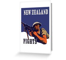 New Zealand Fights! Greeting Card