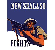 New Zealand Fights! Photographic Print