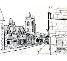 St Peters Church Winchcombe Photographic Print