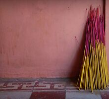 Joss Sticks by Caroline Fournier