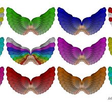 Colorful Foot Wings by michaelwsf