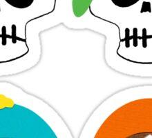 Southern Skulls Sticker
