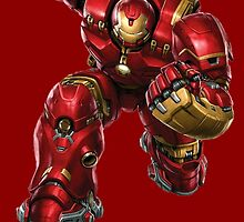 Iron Man - Hulk Buster by AvatarSkyBison