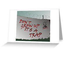 It's a trap... Greeting Card
