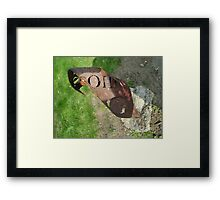 Fire Point G Framed Print