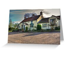 The Hare Inn - Scawton near Helmsley,North Yorkshire Greeting Card