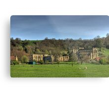 The Abbey Ruins Metal Print