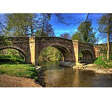 The Bridge near Scawton,North Yorkshire Photographic Print