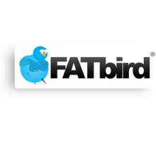 FatBird Merch Brand Canvas Print