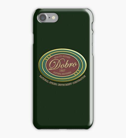 Wonderful Dobro Guitars 1927 iPhone Case/Skin