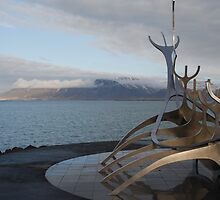 Viking sculpture by dhjorleifsson