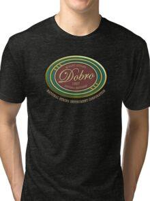 Wonderful Dobro Guitars 1927 Tri-blend T-Shirt