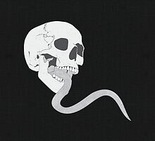 Skull Tongue [White] (Other Colours Available) by Styl0