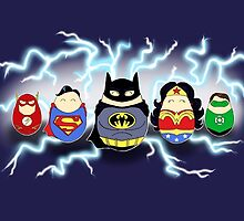 Justice League Tiggles by LaurasLovelies