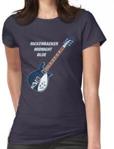 Rickenbacker Midnight Blue Womens Fitted T-Shirt