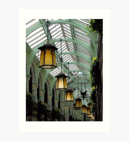 Norwich lights Art Print