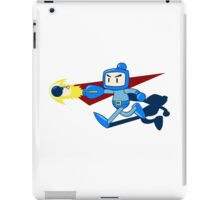The Blue Bomber (man) iPad Case/Skin