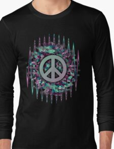 Hippie,Pease,Love,Music  Long Sleeve T-Shirt