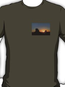 The Mittens at Sunrise Monument Valley T-Shirt
