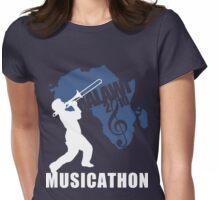 MUSICATHON Tshirt Blue Womens Fitted T-Shirt
