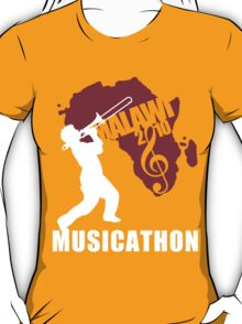 MUSICATHON Tshirt Red T-Shirt