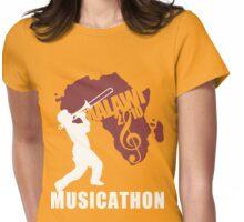 MUSICATHON Tshirt Red Womens Fitted T-Shirt