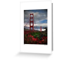 red! Greeting Card