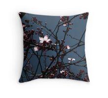 Cherry Twilight Throw Pillow