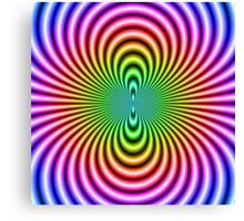 Cosmic Flux Canvas Print