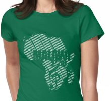 Crossing Cultures Tshirt Womens Fitted T-Shirt