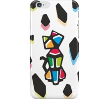 Rainbow Anigami Mr. Cat iPhone Case/Skin