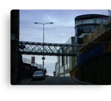 Cityscape, Leith Street from Calton Hill Canvas Print