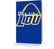 "St. Louis ""The Lou"" Throwback Greeting Card"