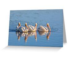 Pelican Quartet Greeting Card