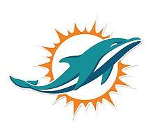 Miami Dolphins Logo by Misco Jones