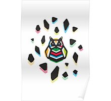 Rainbow Anigami Mr. Owl Poster