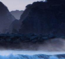 Winter waves 2014 Sticker
