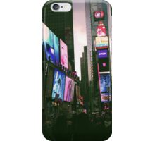 Times Square Afternoon iPhone Case/Skin