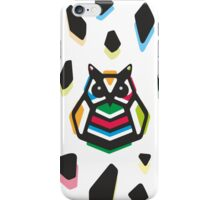 Rainbow Anigami Mr. Owl iPhone Case/Skin