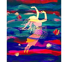 Ocean Woman Jellyfish Photographic Print