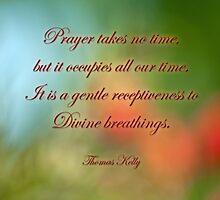 Prayer . . . by Bonnie T.  Barry
