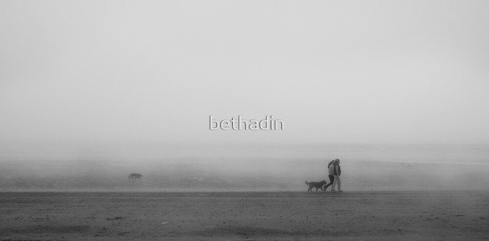 A foggy day by bethadin