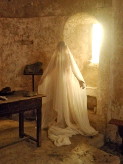 In the chapel by Auquier