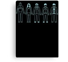 Family of Scientist Canvas Print