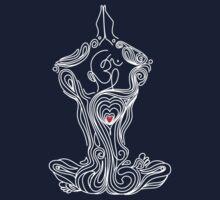 Meditation: Salute to Oneself Kids Tee
