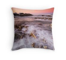 Cotton Candy Dawn Throw Pillow