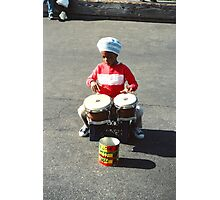 Drummer Boy in New York Photographic Print