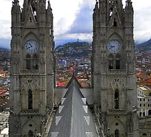 The Best View In Quito IV by Al Bourassa