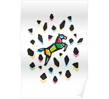 Rainbow Anigami Mr. Horse Poster